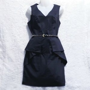 Vince Camuto Sleeveless Little Black Dress